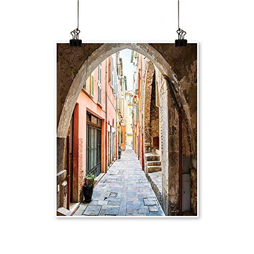 Single Painting St Arch Medieval Heritage Cote South France Cityscape Scenery Office Decorations,12