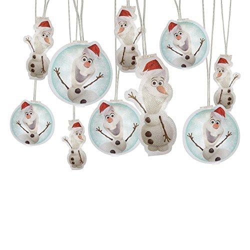 Disney Frozen Olaf Holiday Light String (11.15ft long) ()