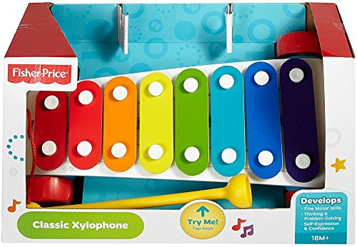 Fisher-Price Classic Xylophone, 3 Pack by Unique's Shop