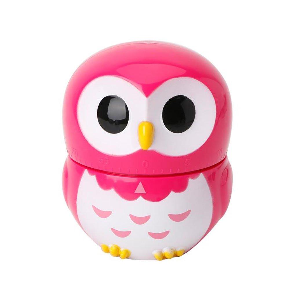 RENNICOCO Mignon Owl Cuisine Cuisine minuteur minuteur Horloge Les comptoirs nouveauté Cartoon