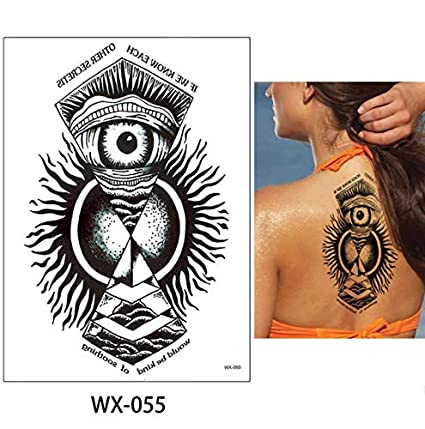 slldyax Etiqueta engomada del tatuaje temporal para mujeres ...