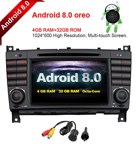 MCWAUTO for Mercedes Benz W209 W203 C320 C350 7 Inch Android