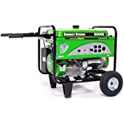 Lifan Energy Storm ES8000E 8000 Watt Lifan 15 HP 420cc 4-Stroke OHV Gas Powered Portable Generator with Electric...