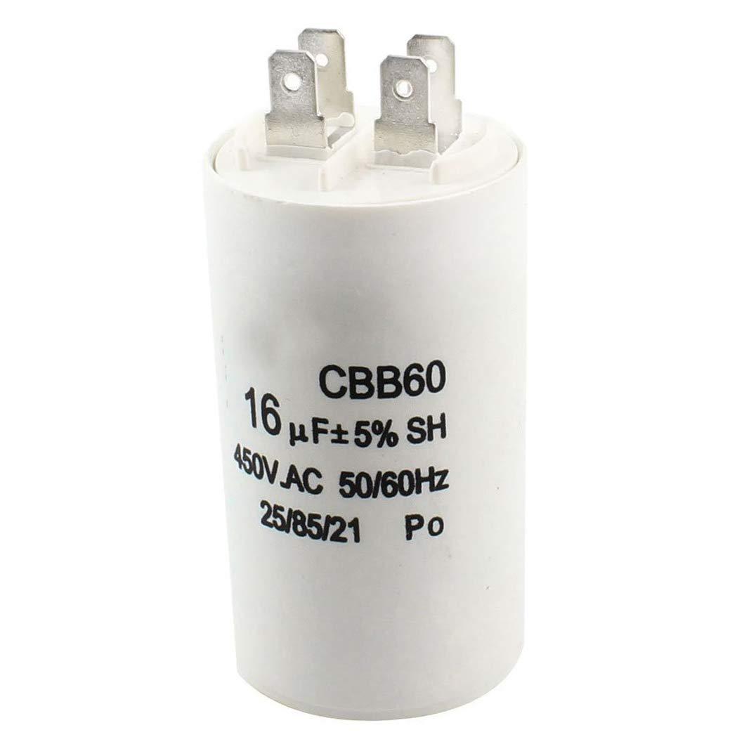 SeaStart - Condensador de Motor para Lavadora CBB60 no Polares AC ...