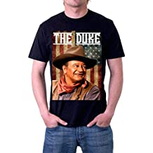 JOHN WAYNE THE DUKE IS AMERICA DUAL SIDED T-Shirt by Jerry Jackson MADE IN THE USA