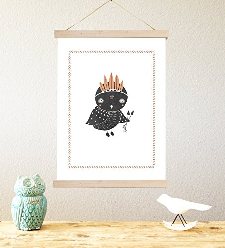 Name In Lights Wall Decor : Boho Owl 18x24 Print, Woodland Animals Wall Art, Forest Nursery Decor, Wall Art for Kids ...