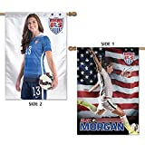 WinCraft SOCCER National Team 2 Sided Vertical Flag, 28 x 40