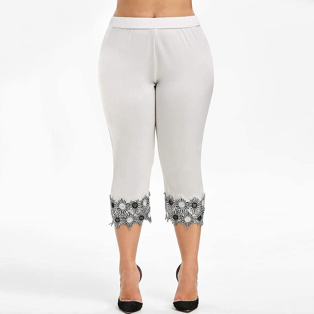 Luckycat Mujer 3/4 Leggings Piratas Tallas Grandes Verano Elastico Cómodo Transpirable Capri Mallas Pantalones Leggings Mujer Deportivas Leggins Yoga ...
