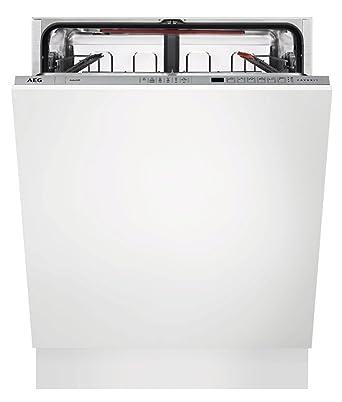 AEG – Lavavajillas integrada integrado FSE 62605 P con salpicadero ...