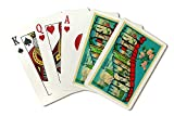 Greetings from Washington State (Playing Card Deck - 52 Card Poker Size with Jokers)