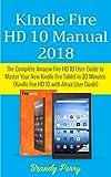 Kindle Fire HD 10 Manual 2018