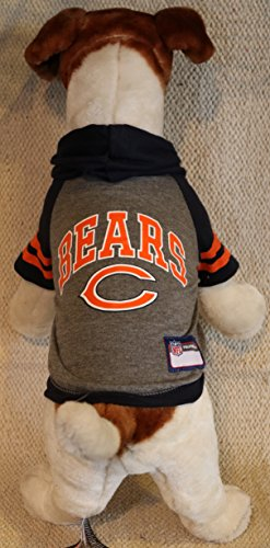 CHICAGO BEARS ★ DOG PET HOODIE SWEATER ★ ALL SIZES ★ LICENSED NFL