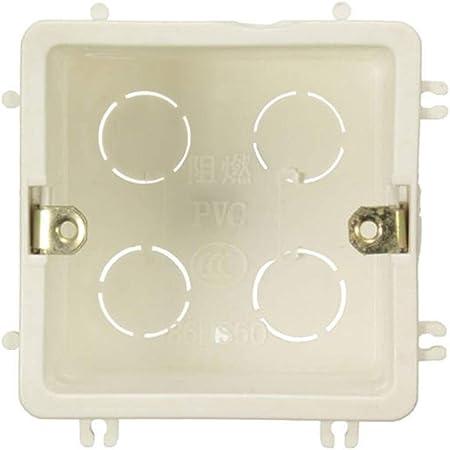 Oojuuyunkjlkj 86 Tipo del zócalo Inferior Caja de luz Interruptor del Tacto de Cassette Enchufes e interruptores eléctricos: Amazon.es: Hogar