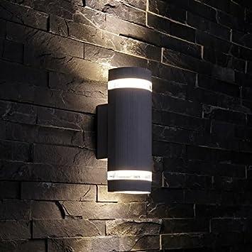 pretty nice b4e36 c9137 Biard Architect Round Up/Down Wall Light Black - Outdoor Indoor Garden