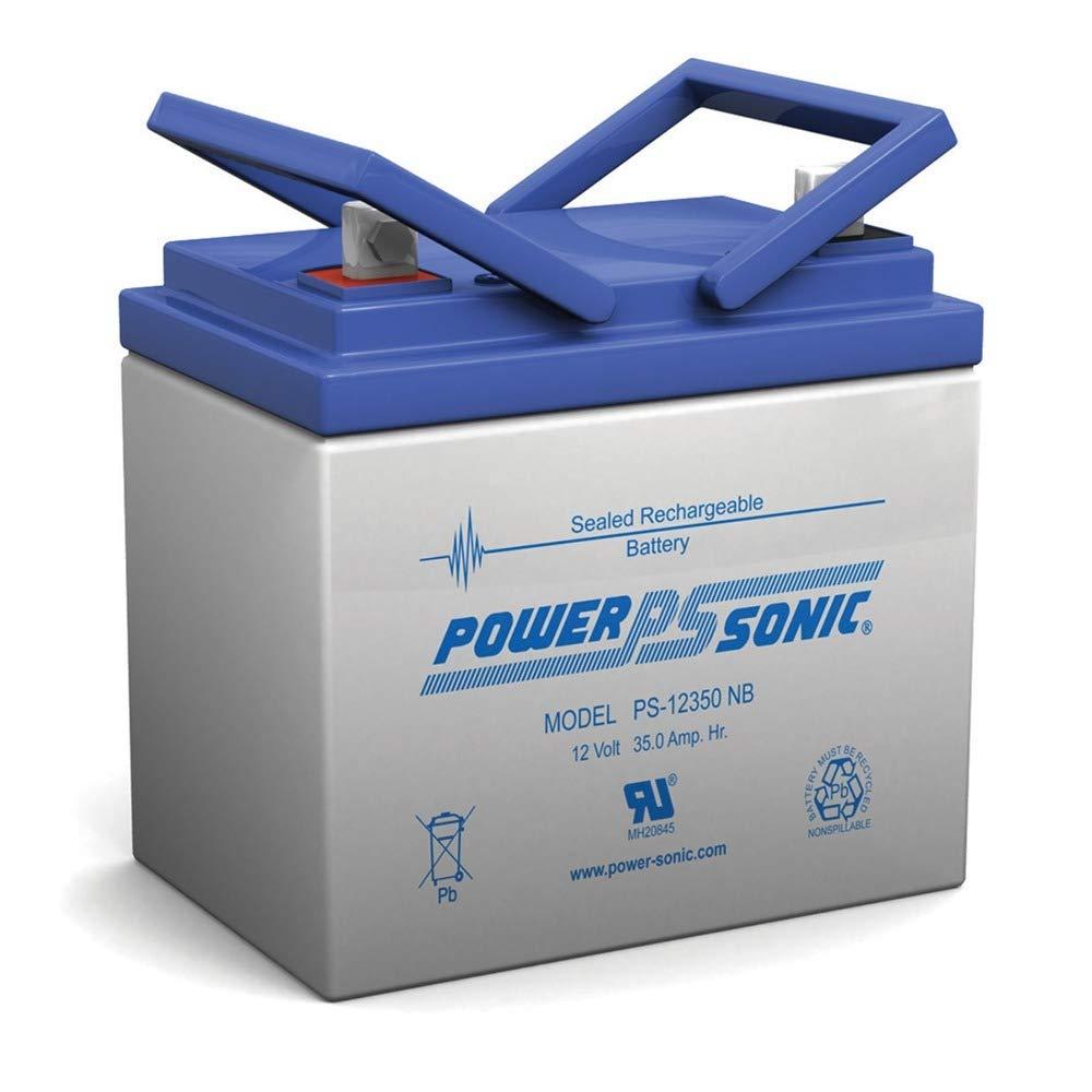 Powersonic 12V 35Ah U1 Deep Cycle AGM Solar Battery Also Replaces 33Ah 34Ah 36Ah