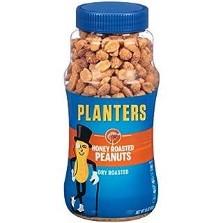 Planters Honey Roasted Peanuts, 16 oz Jar (Pack of 6)