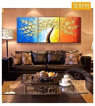 Home Wanddekoration Original Handgezeichnete Malerei Blumen Wandbilder  Wohnzimmer Wandmalereien Moderne Schlafzimmer Malerei Für Wohnzimmer/ Schlafzimmer
