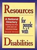 Resources for People with Disabilities 9780894343094