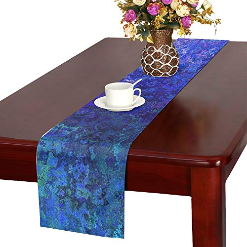 Jnseff Texture Vintage Structure Pattern Table Runner, Kitchen Dining Table Runner 16 X 72 Inch For Dinner Parties, Events, -