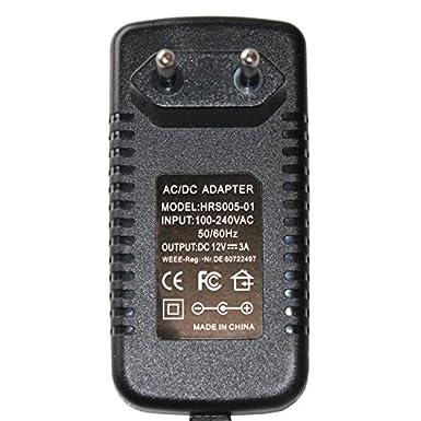 Steckernetzteil 36W 12V 3A ; EU-Plug 5,5//2,1mm ; Schaltnetzteil