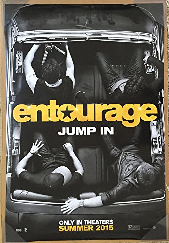 ENTOURAGE MOVIE POSTER 2 Sided ORIGINAL Version B 27x40 JEREMY - Jeremy Pivens Movies