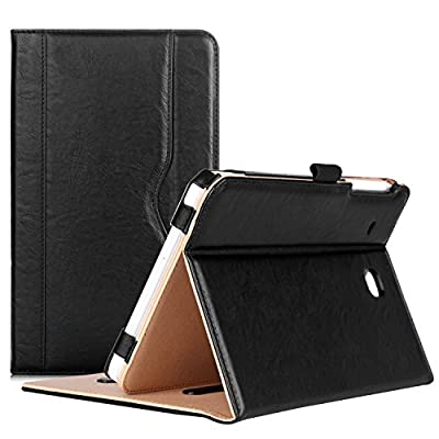 ProCase Samsung Galaxy Tab E 8.0 Case - Leather Stand Folio Case Cover for Galaxy Tab E 8.0 4G LTE Tablet (Sprint,US Cellular, Verizon) SM-T377, Multiple Viewing Angles, Document Card Pocket from ProCase