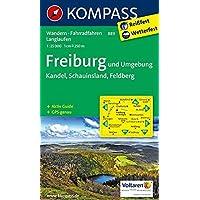 Freiburg und Umgebung - Kandel - Schauinsland - Feldberg 1 : 25 000