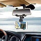 Soporte Universal Para Celular De Auto ESPEJO Para SmartPhone, Iphone, Samsung, LG