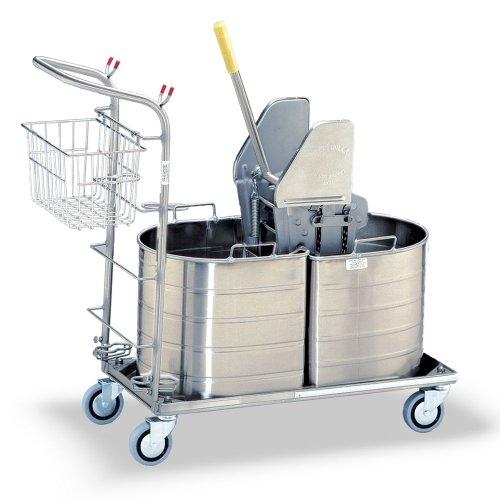 Royce Rolls Stainless Steel Half Oval Double Tank Mopping Unit - #1C-320-H by Royce Rolls