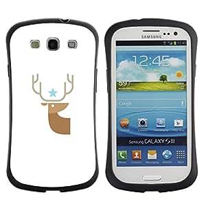 Suave TPU Caso Carcasa de Caucho Funda para Samsung Galaxy S3 I9300 / Buck Haunt / STRONG