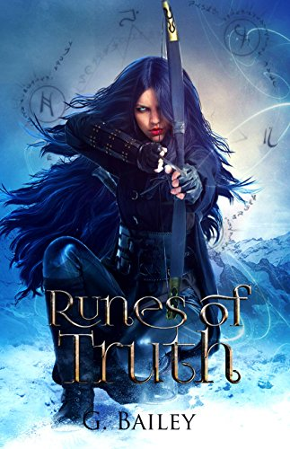 Runes of Truth: A Reverse Harem Urban Fantasy (A Demon's Fall series Book 1) cover