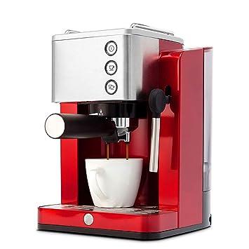 STSERI Máquina de café Espresso y Capuchino, máquina de café con vaporizador de Leche, 15 Bar: Amazon.es: Hogar