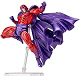 Matching World Figure Complex Amazing Yamaguchi Magneto Magneto About 165 mm ABS & PVC pre-Painted Action Figure Revoltech