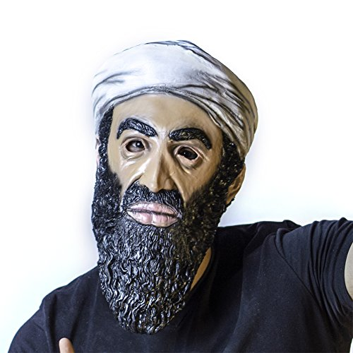 The Mask Biz Osama Bin Laden Head Mask Latex