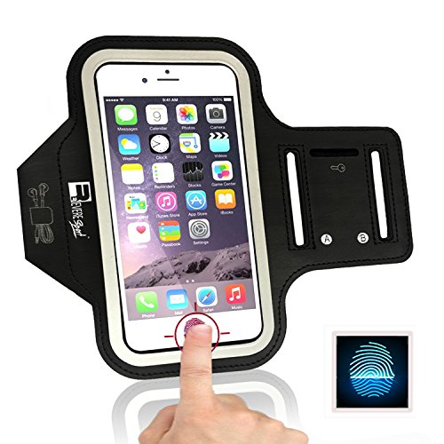 Cheap Armbands iPhone 7 / 8 Sports Armband with Fingerprint ID Access. Running Phone..