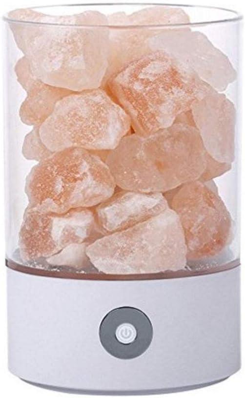 Lámpara De Piedra De Sal De Cristal del Himalaya, Ayuda para ...
