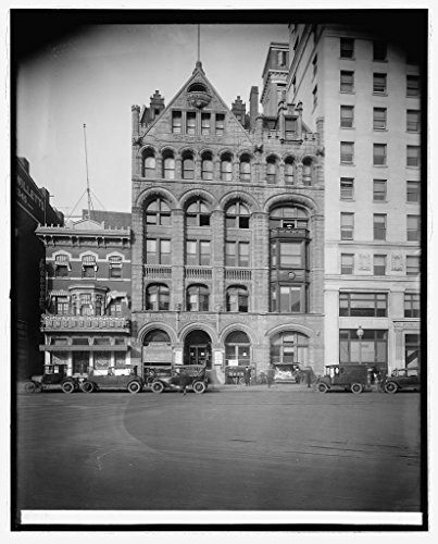 Vintography Reproduced 16 x 20 Photo of: Post BLDG, Washington, D.C. 1922 National Photo Company