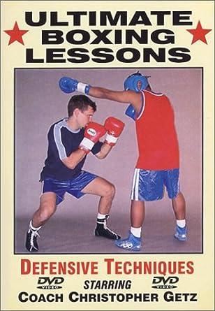 Amazon com: Ultimate Boxing Defensive Techniques: Chritopher