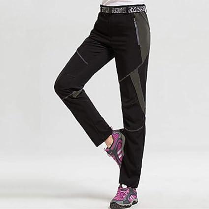 SHYSBV Pantalones Impermeables Pantalones De Senderismo para ...