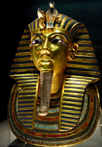 (King Tut Tuthankamen Burial Mask Photo Art Egyptian Photos)
