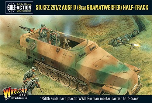 Warlord Games SD.KFZ 251/2 AUSF D (8CM GRANATWERFER) HALF TRACK Action Wargaming Miniatures