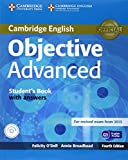 Objective Advanced Student's Book with Answers with CD-ROM by O'Dell Felicity Broadhead Annie (2014-09-22) Paperback
