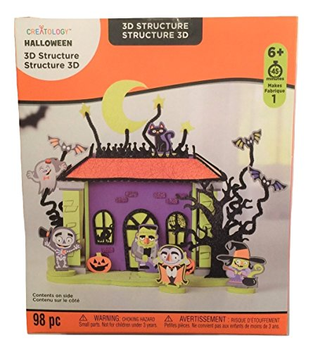 Creatology Halloween 3D Activity Kit ~ Night Gathering (98 Pieces) -