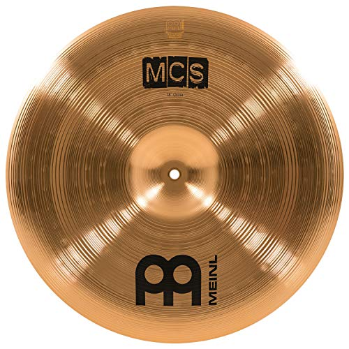 "(Meinl 18"" China Cymbal – MCS Traditional Finish Bronze for Drum Set Use, Made In Germany, 2-YEAR WARRANTY (MCS18CH))"