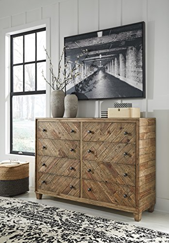 (Signature Design by Ashley B754-31 Grindleburg Dressers, Light Brown)