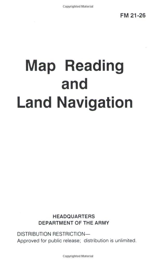 Map Reading And Land Navigation Pentagon U S Military 9780967512334 Amazon Com Books