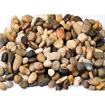 Mosser lee ml1121 river rock soil cover 5 lb for Decorative river stones