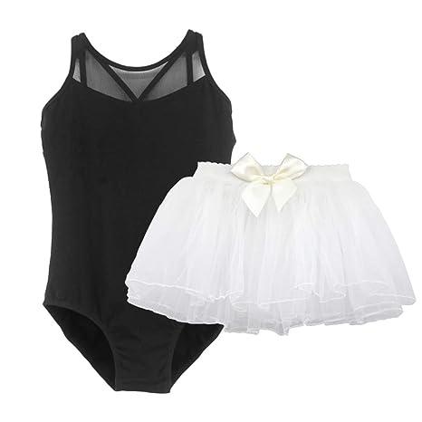 Jian E Ropa de Baile para niñas Slings para niños Malla de Mono ...