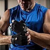 Harbinger Power Non-Wristwrap Weightlifting Gloves