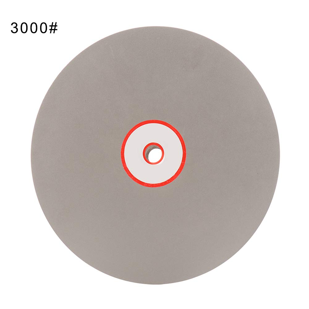 Xueliee grana 3000 diametro 8 pollici Disco diamantato per lucidatura